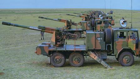 """中国自研卡车炮曾在山地大放异彩,被封""""高原战争之神"""""""