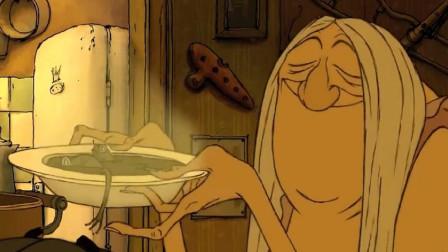 过气女星买不起肉,为了解馋,逮了一锅青蛙煮着吃!