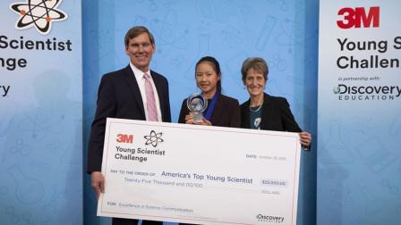 14岁华裔女生发明液体创可贴,可救助数万人,获评美国顶尖科学家