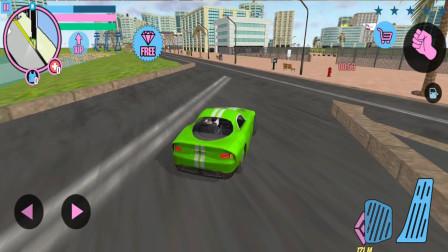 走走云游戏解说:城市英雄,驾驶新跑车逐点竞速,围绕城市跑一圈