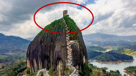 世上最陡峭的房子,要爬650级梯子才能到达,屋主无奈只好卖房