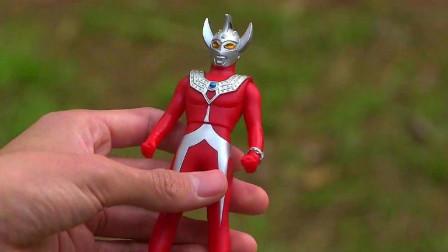 小光把变身器对准泰罗的人偶,却什么都没有发生,泰罗都蒙了!