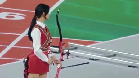 姑娘,你以为你换身衣服来射箭,我就不认识你了吗?