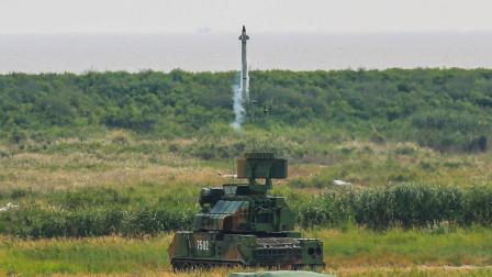 机动防空系统到底哪家强?红旗17+双35自行高炮,撑起一片天