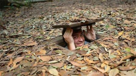 """越南繁华的""""地下城"""" 入口不到一米宽 却成了无数美军的噩梦"""