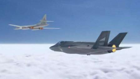 全球最大轰炸机突然拉升机头加速,连五代机都追不上