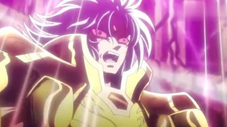 圣斗士星矢:黄金圣斗士撒加一招银河星爆,以为稳赢结果尴尬了