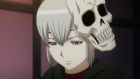 银魂:银时把死神背回家,当摘下面具后,发现竟是个萌妹子!