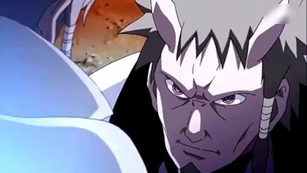 火影忍者:这须佐能乎简直无敌啊,在六道面前斑的那个须佐简直就是小儿科。