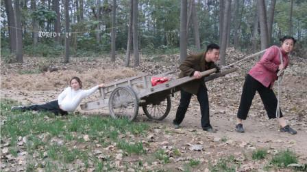 喜剧;憨妮怀孕要生,村妹二货拉着去医院,结果半路掉了也不知道