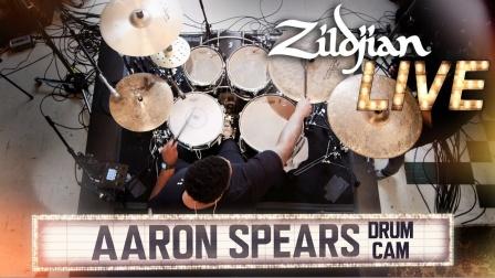 ★ME威律动★Aaron Spears - Zildjian Live 2019 (Drum Cam)