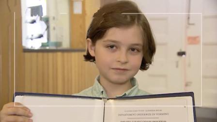 9岁神童将完成本科课程 成史上最年轻大学毕业生