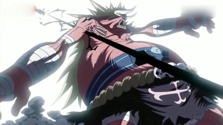 海贼王:乌索普的弹弓加上娜美的雷电,布鲁克凭借三人之力贯穿了敌人右臂!