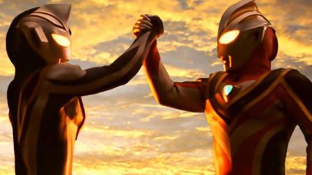 伟大的一次握手!奥特曼联手打败巨魔之王,站在世界巅峰