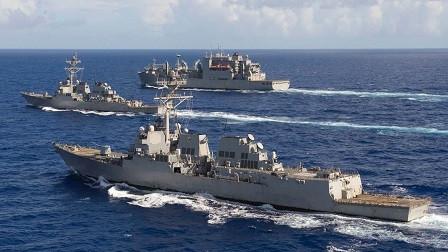 航母在近海吃亏后,美军急调大批军舰火速支援,不料却再次吃大亏