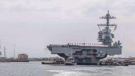 美国又一航母下水,坐拥12艘航母,是第二航母强国的六倍!