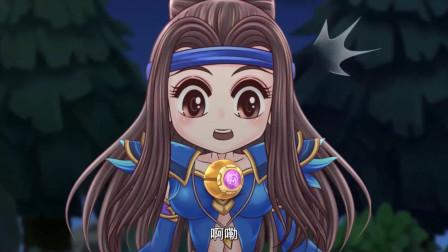 王者歪传:刘备真是没个正行!拿球收蝉云子干嘛,那是友方!