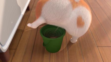 短腿小柯基:魚老弟,你也太經不起我尿液的滋養了