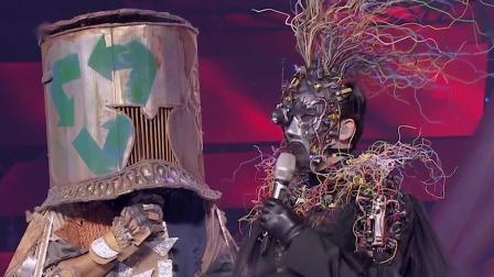 """""""超級電腦瓦特拉""""自曝唱中超主題曲,""""戴著面具也起范兒""""坐不住了! 蒙面唱將猜猜猜 第四季 20191117"""