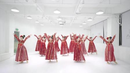 古典舞《清平樂》,大唐盛世,環肥美女!