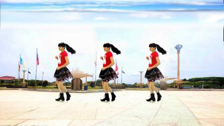 广场舞《一身嫁衣DJ》唯美网红神曲,简单好看好学,一起跳来吧