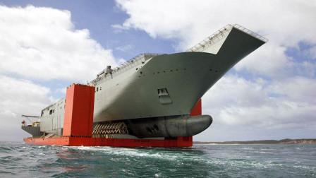 中国这艘10万吨巨舰有多猛?是辽宁舰两倍,装上航母能跑1万海里