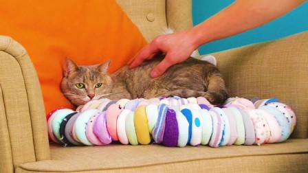 旧袜子摇身一变成坐垫?简单的旧物改造,制作属于你的家居用品!