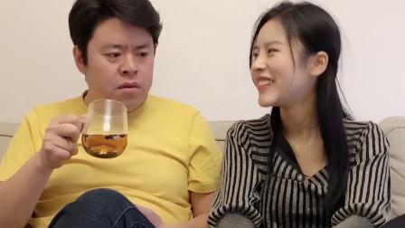 祝晓晗一展歌喉,被老丈人及时制止,网友留言:有点上头