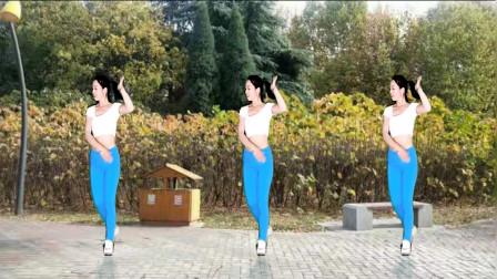 点击观看《驿城微笑 32步健身舞一生回忆有你就足够 舞步好看易学》