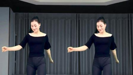 青青世界超火的44步广场舞《言不由衷DJ版》舞步自然轻松自在