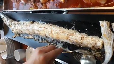 一条鱼一千多,服务员把鱼刺都挑出来,吃的就是服务!