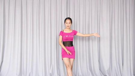 肚皮舞基本功撩腿教程分解 零基础轻松就能学会