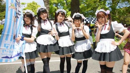 实拍日本女仆店,体验美少女跪式服务,中国游客:享受