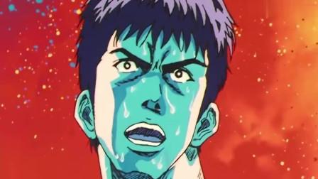 灌篮高手:最后30秒,樱木花道第一次杀死比赛的扣篮!