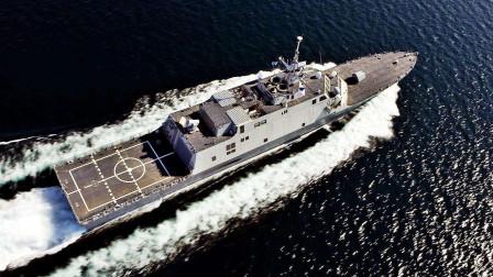 3千吨小舰用航母动力!美军舰跑出45节高速,曾让054A甘拜下风