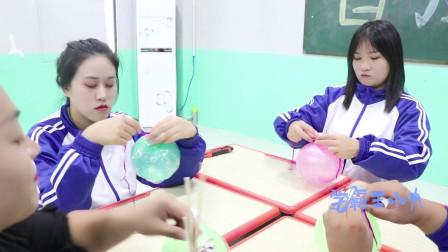 """学霸王小九:手工课,老师教学生做""""气球""""灯笼,没想学生做的一个比一个好看"""