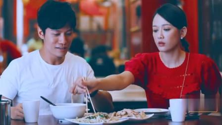 吃货陈乔恩上线,鸡肉配米粒饭大口吃不停,和艾伦甜蜜互动好好啊