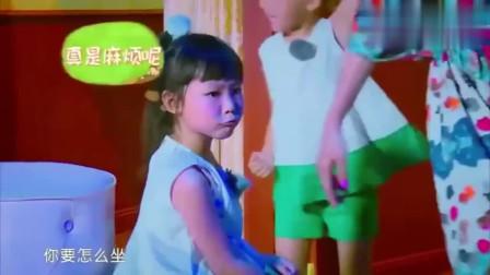 蔡少芬两个女儿性格差别大,小女儿特别逗,小仙女一枚!