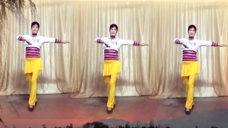 冬季32步健身舞《外婆的澎湖湾》老歌新跳更好看,适合您
