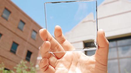 """中国制造太阳能""""发电玻璃"""",家里安装5块,能供一年的用电"""