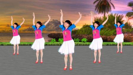 益馨广场舞《火红的萨日朗》32步好听好看送给你