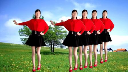 阿真广场舞《一枝红杏》简单易学,韵味十足,好看好学!