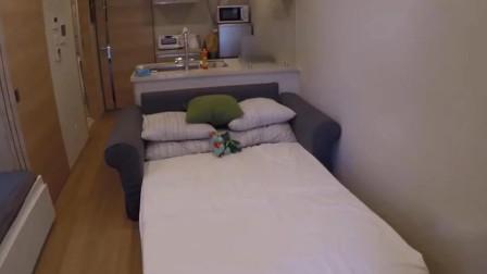 日本蜗居房:5平米公寓月租3700元,令人意想不到的日本租房生活