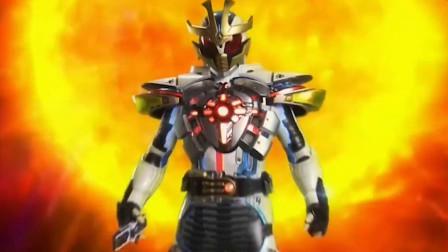 假面骑士kiva:副骑ixa全形态变身合集,爆发模式是负荷最大的