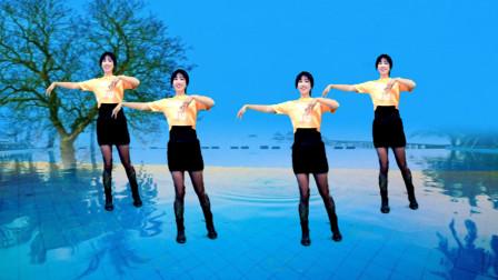 阿采新手入门32步健身舞《外婆的澎湖湾》