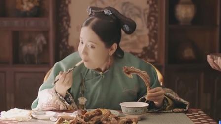 演技派:吃货格格婉贞开始营业,为了减肥竟然这样对小太监!
