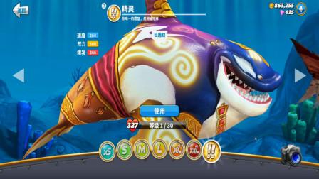 饥饿鲨世界:杀人鲸看起来憨憨的,下海会被敌人吃掉吗?