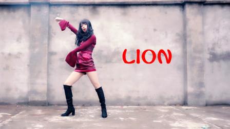 韩小茶流行韩舞视频GIDLE 《LION》翻跳