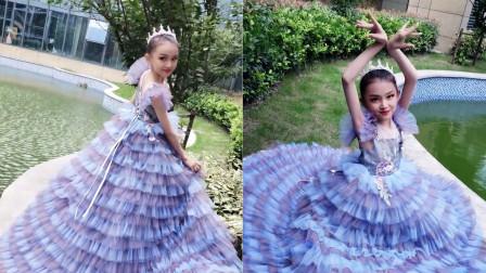 山东童模宋小睿翻唱《桥边姑娘》,10岁就有这样的唱功,有前途!