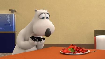 貝肯在餐廳打工時偷吃客人的食物